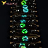 Светящиеся флуоресцентные Браслеты Глаза оптом фото 01