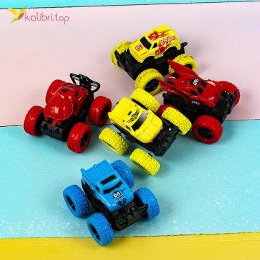 Купить машины инерционные Monster Trucks перевертыши оптом фото 02