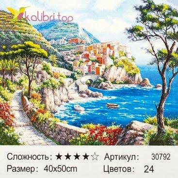 Рисования по номерам Океан 40*50 см оптом фото 1