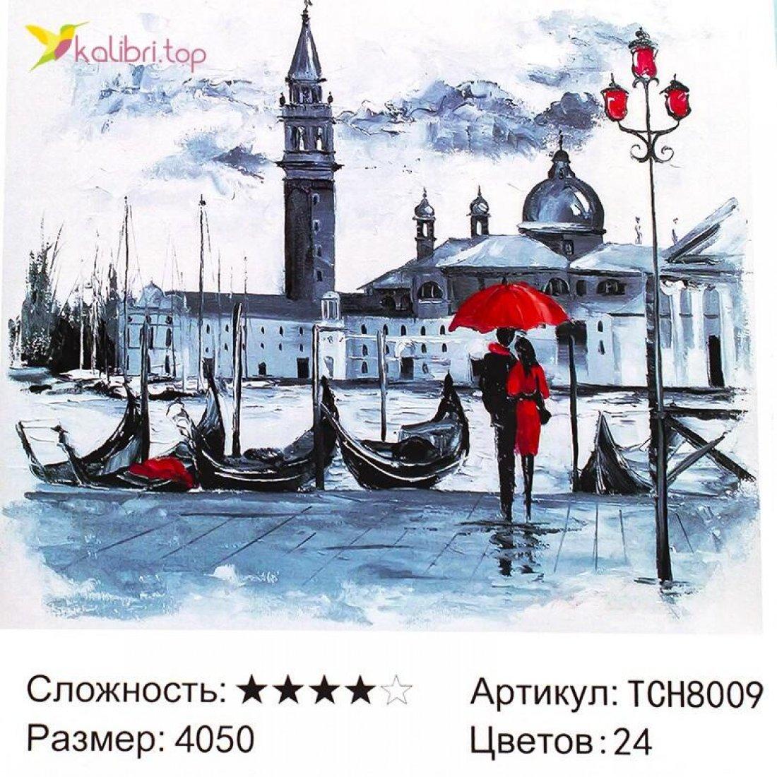 Алмазная мозаика по номерам Венеция 40*50 см оптом фото 086