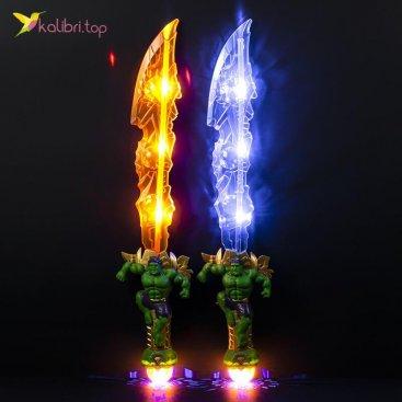 Светящийся меч Халк оптом фото 01