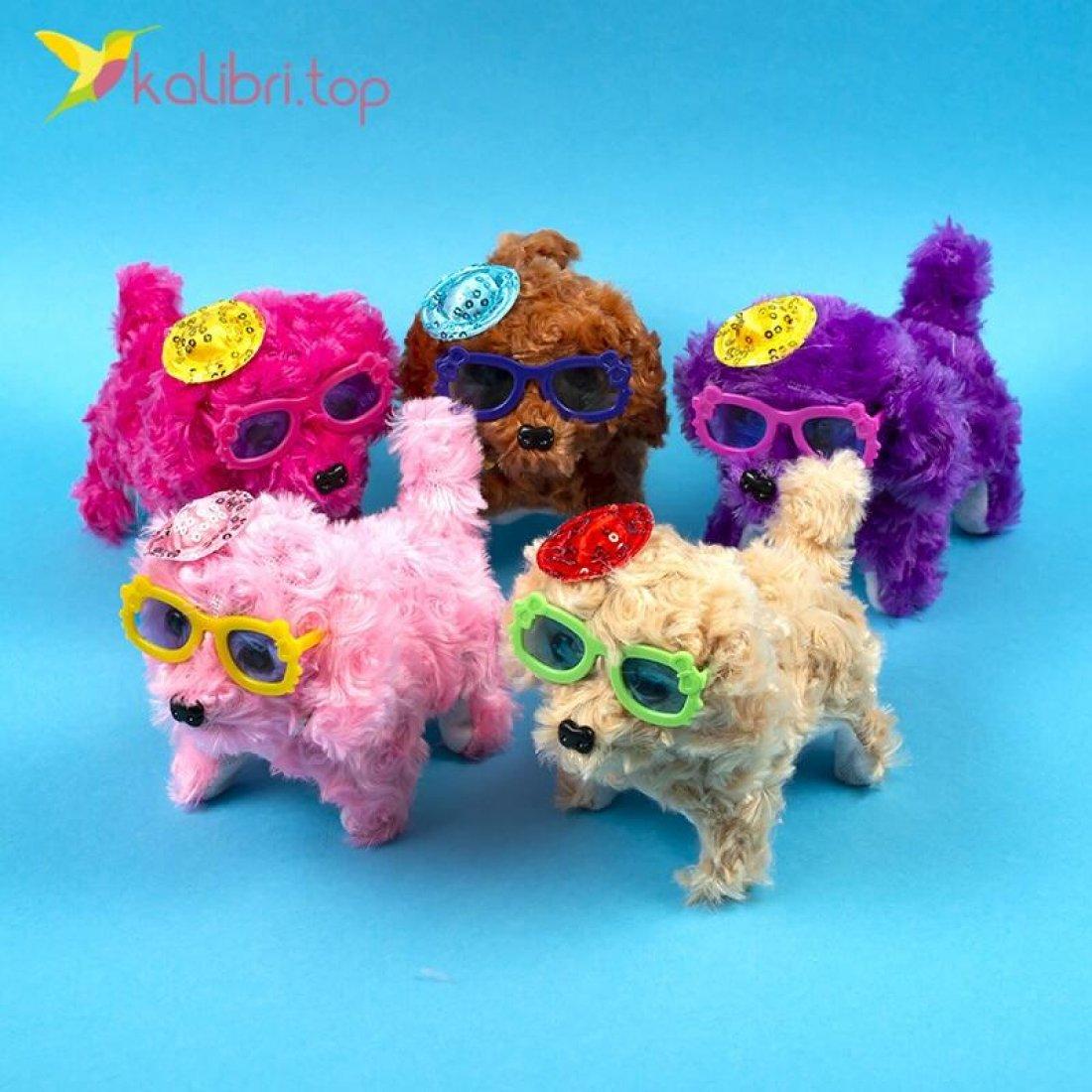 Тявкающие собачки в очках оптом фото 01