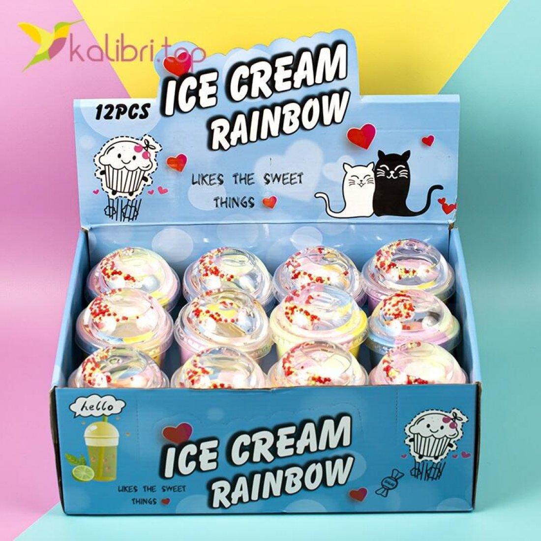 Флаффи слайм Ice Cream оптом фото 2
