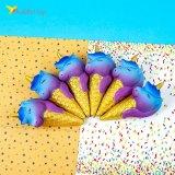 Сквиши мороженое рожок разноцвет оптом фото 01