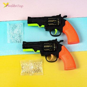 Купить пистолет стреляющий орбизами Револьвер оптом фото 01