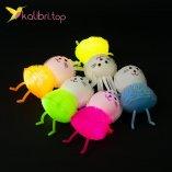 Купить зайчики ежики силиконовые светящиеся оптом фото 10