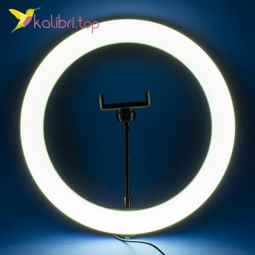 "Кольцевая лампа для селфи 12"", 30 см оптом фото 01"