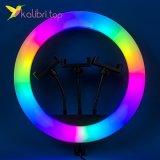 """Лампа для селфи RGB 14"""", 35 см оптом фото 01"""