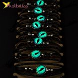 Светящийся флуоресцентный Браслет Око оптом фото 01