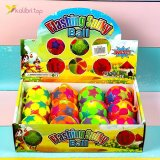 Мячики ёжики светящиеся цветные SA-19 оптом фото 06