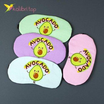 Маска для сна Авокадо смешной оптом фото 01