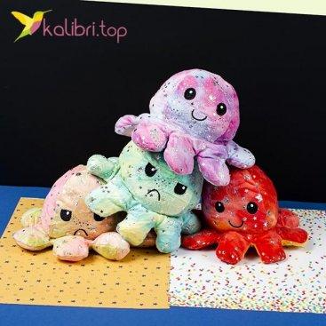 Мягкая игрушка Осьминожка звёздочка оптом фото 01