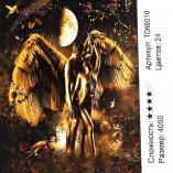Алмазная мозаика по номерам Ангел в Любви 40*50 см оптом фото 664