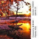 Алмазная мозаика по номерам Весна в Лесу 40*50 см оптом фото 07