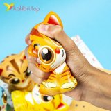 Игрушки сквиши Коты цветные оптом фото 03
