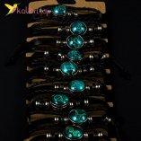 Флуоресцентные Браслеты на руку Зодиак оптом фото 01