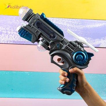 Детский пистолет светящийся, музыкальный Вертушка оптом фото 01