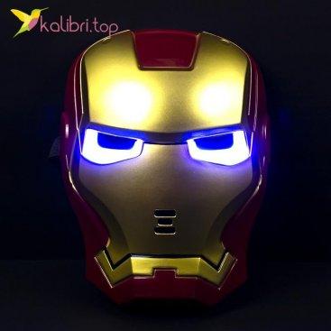 Светящиеся маска Железного Человека Iron Man оптом фото 54