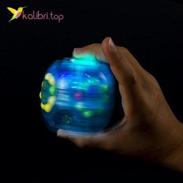 Головоломка Шар прозрачный светящийся оптом фото 01