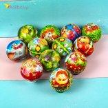 Мячики поролоновые Зверята 6,3 см оптом фото 01