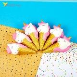 Сквиши мороженое рожок розовое оптом фото 01