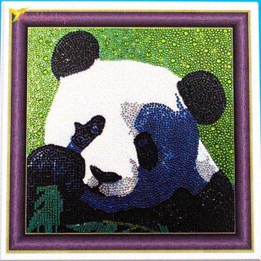 Алмазная мозаика по номерам Панда Красивая 30*30 см оптом фото 01