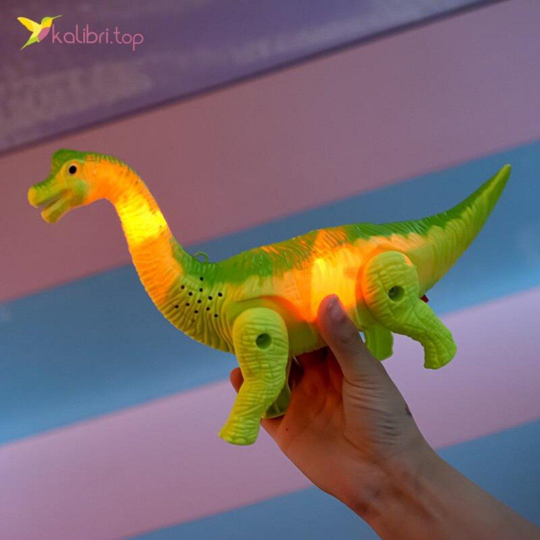 Купить Ходилку Динозавр травяной оптом фото 03