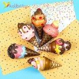 Сквиши Шоколадный Рожок оптом фото 01