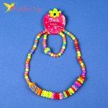 Детский набор Бусы с браслетом оптом фото 01