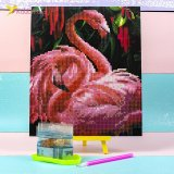 Алмазная мозаика по номерам Фламинго 21*25 см оптом фото 01
